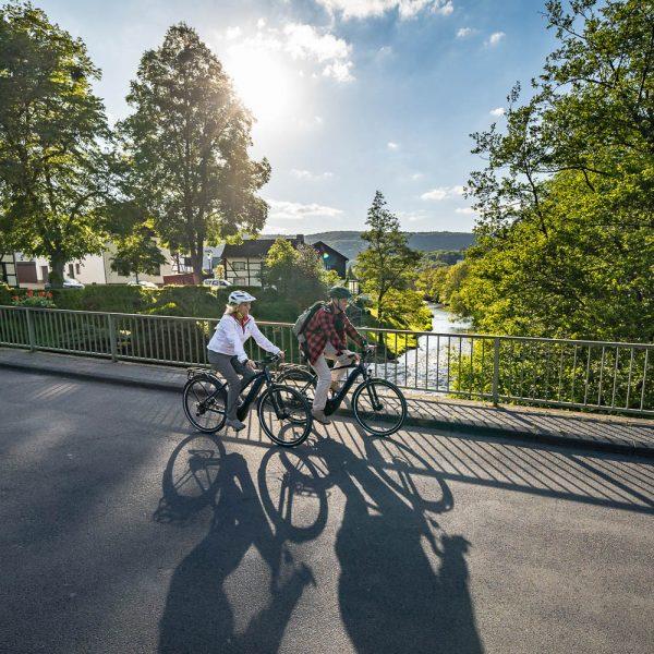 RurUfer-Radweg Erlebnisregion Nationalpark Eifel