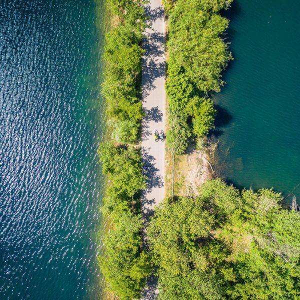 RurUfer-Radweg (Lago Laprello)
