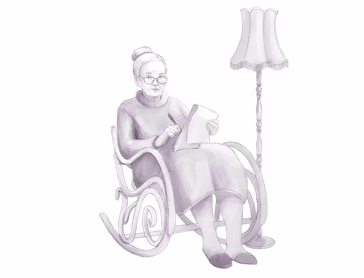 Großmutter aus Düren