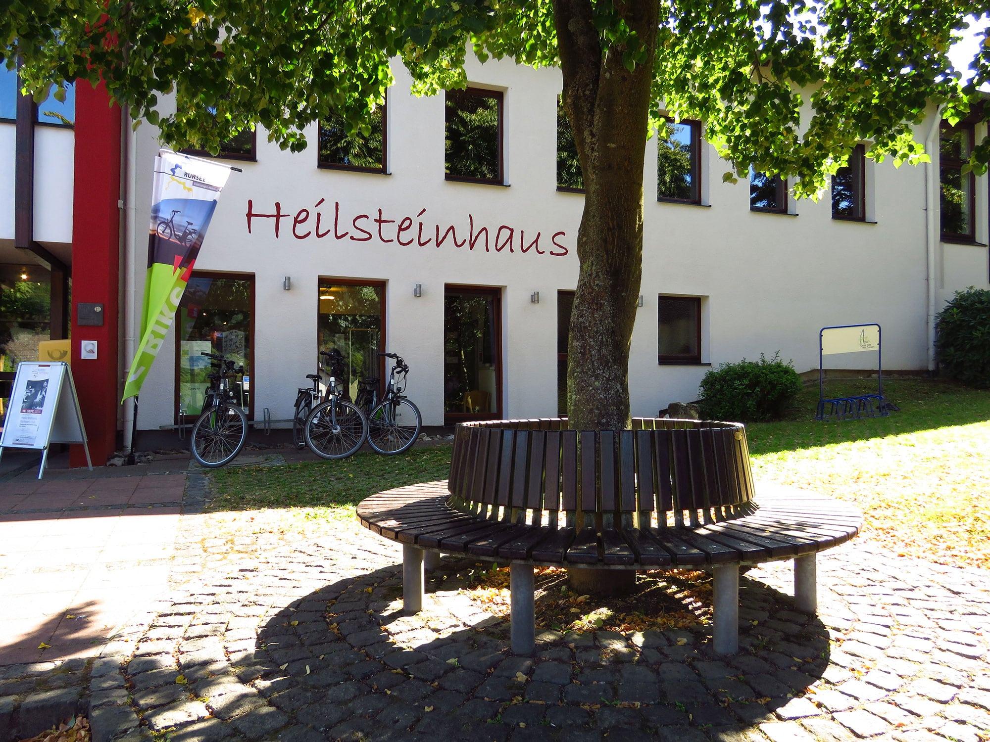 Nationalpark-Tor Einruhr Heilsteinhaus