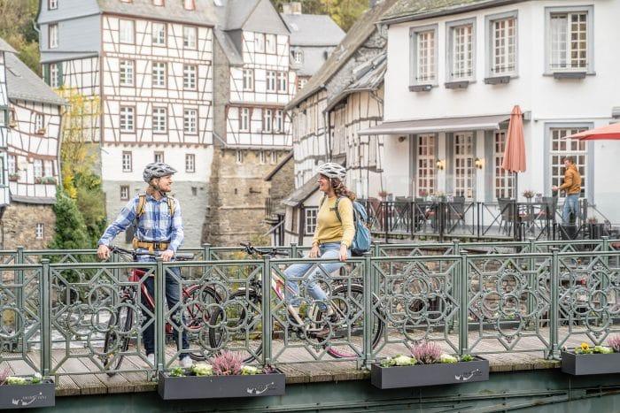 RurUfer-Radweg Touristinformation Monschau