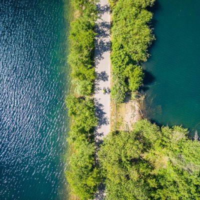 RurUfer-Radweg Lago Laprello