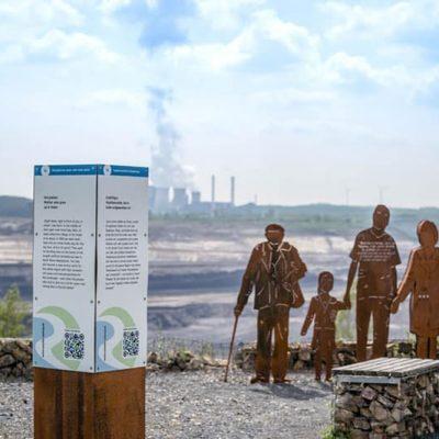 RurUfer-Radweg Rast- und Erlebnisstation Tagebau Inden